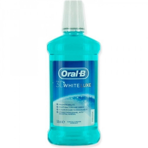 Oral-B ústna voda 3D White LUXE 500 ml