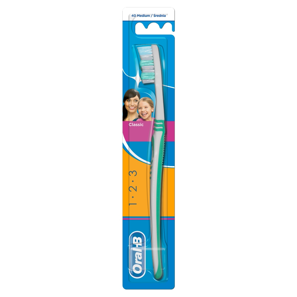 Oral-B zubní kart.Classic 40 Medium