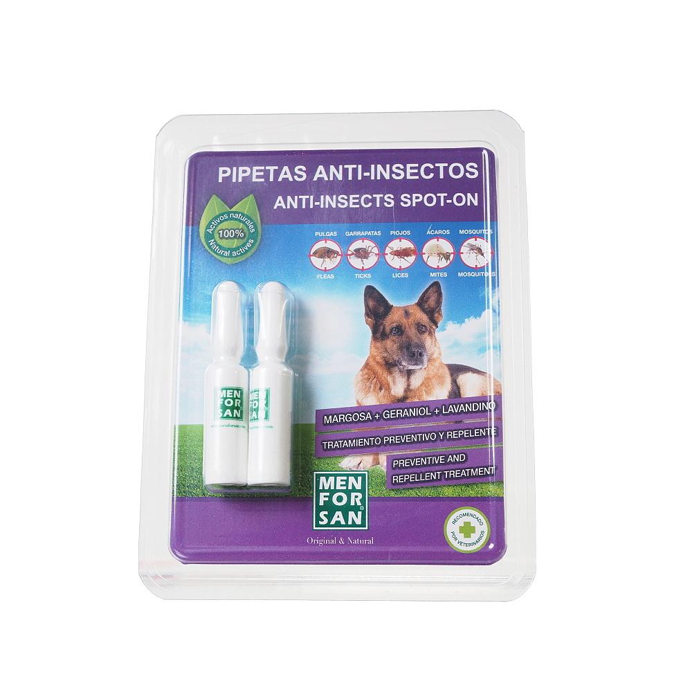 MENFORSAN Antiparazitný pipety proti blchám a kliešťom pre psov 2x1,5 ml