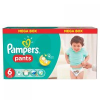 PAMPERS Pants 6 EXTRA LARGE 16+ kg 88 kusov
