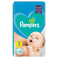 PAMPERS New Baby-Dry 1 NEWBORN 2-5 kg 43 kusov