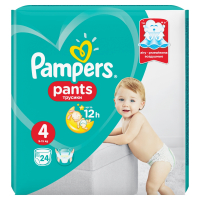 PAMPERS Pants 4 MAXI 9-14 kg 24 kusov