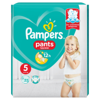 PAMPERS Pants 5 JUNIOR 12-18 kg 22 kusov