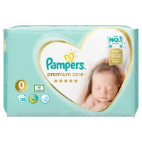 PAMPERS Premium Care 0 MEWBORN do 2,5 kg 30 kusov