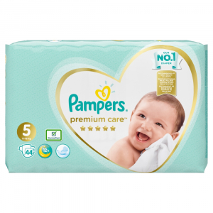 PAMPERS Premium Care 5 JUNIOR 11-25 kg 44 kusov