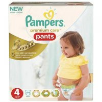 Pampers Premium Care Pants 4 maxi 9 - 14 kg 44 kusov