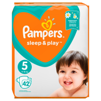 PAMPERS Sleep&Play 5 JUNIOR 11-18 kg 42 kusov