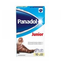 PANADOL JUNIOR sup 250 mg 1x10 ks