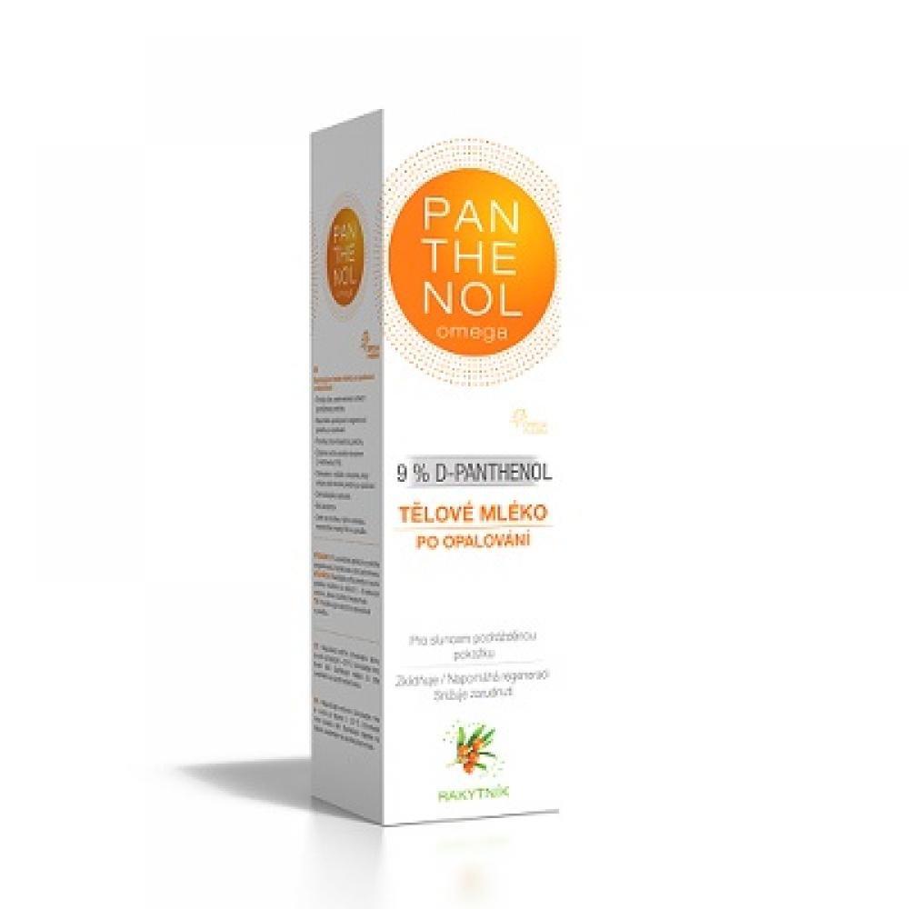 PANTHENOL OMEGA Tělové mléko s rakytníkem 9% 250 ml