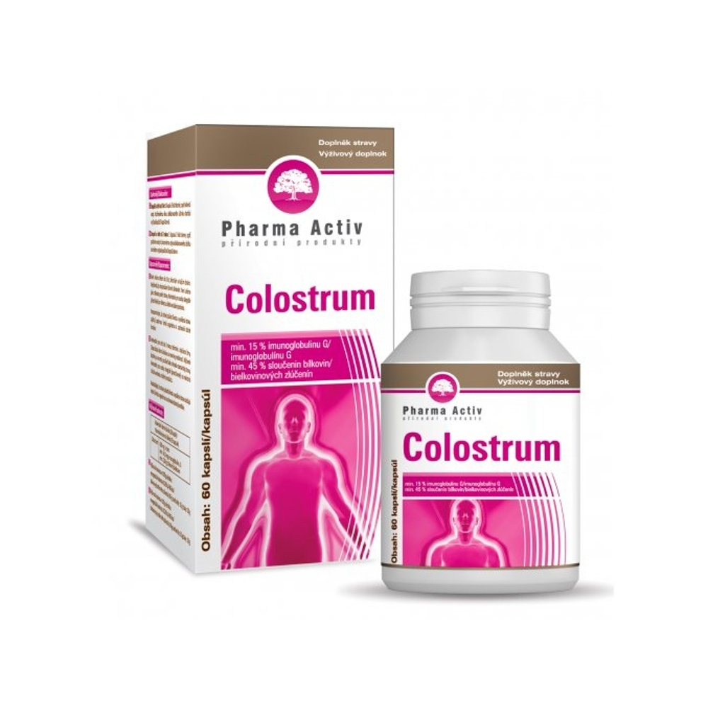 PHARMA ACTIV Colostrum 60 kapsúl