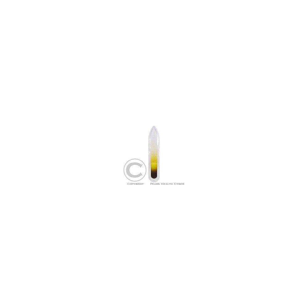 Pilník sklenený 1010B farebný 9cm