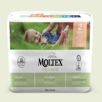 MOLTEX Pure & Nature Mini 3-6 kg  38 ks