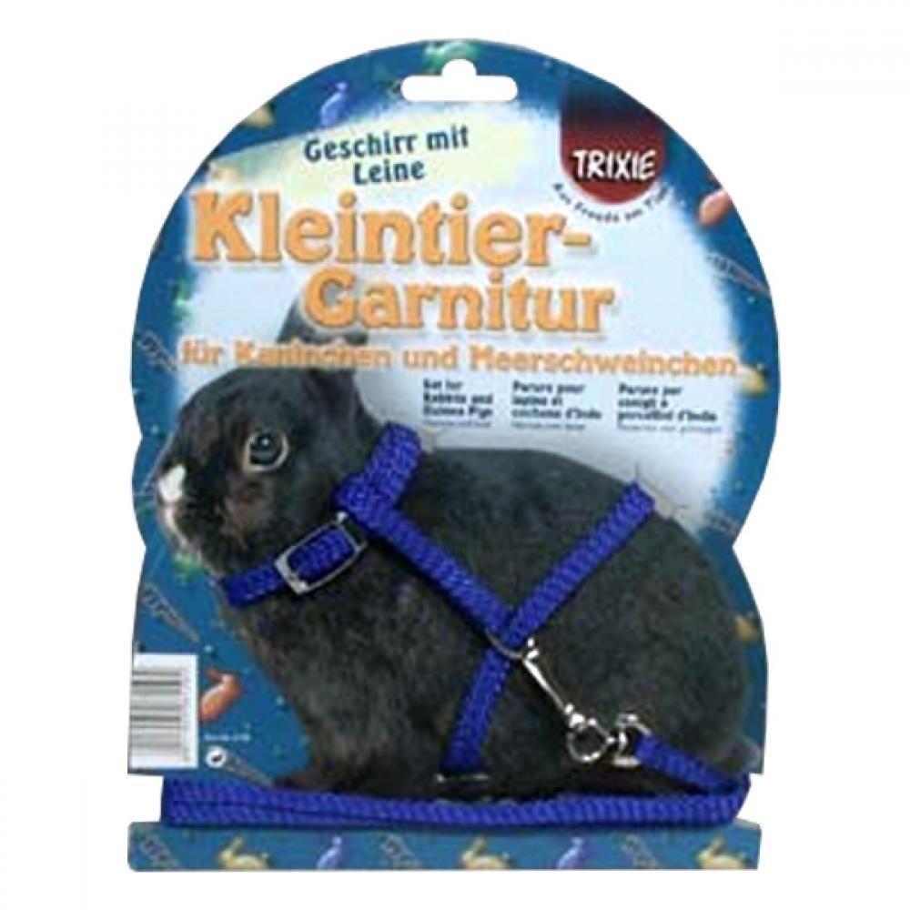 TRIXIE Postroj pre zakrslého králika + vodítko 8 mm / 1,20 m