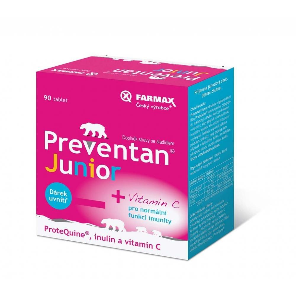 FARMAX Preventan Junior 90 tabliet + Darček ZADARMO : Vypredaj