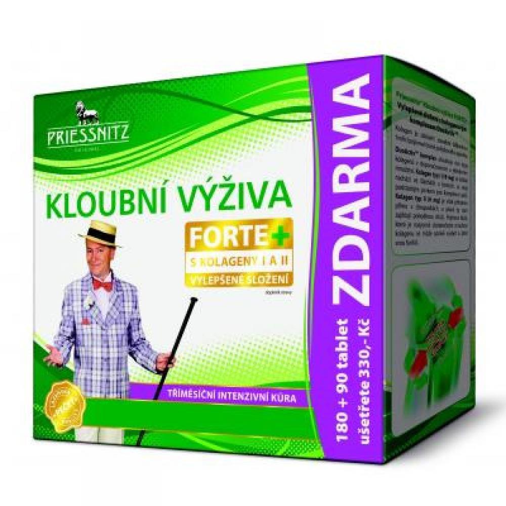 PRIESSNITZ Kĺbová výživa Forte + kolagény 180 + 90 tabliet
