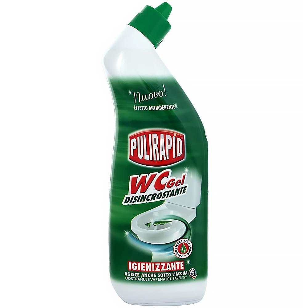 PULIRAPID WC gél 750 ml (vysoko účinný gélový čistič WC, vôňa mandlí)