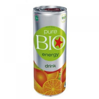 PURE BIO Energy drink 250 ml