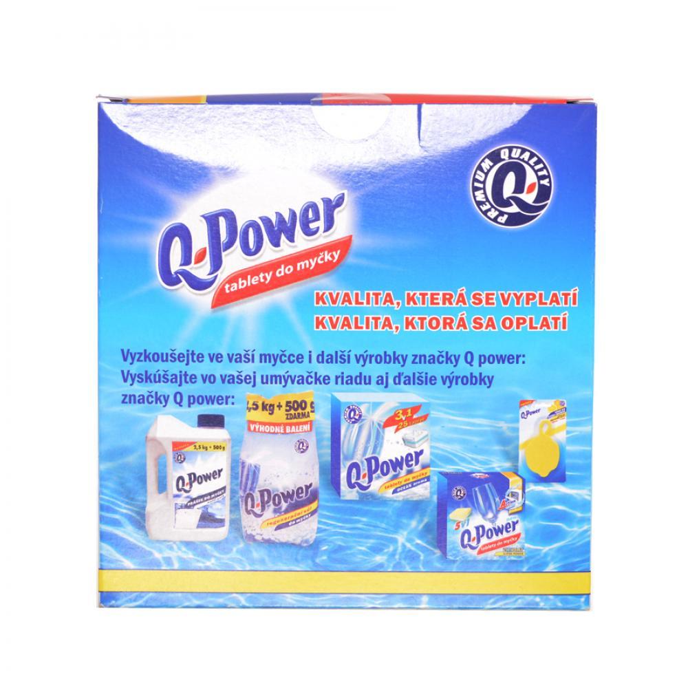 Q power tablety do umývačky (60ks) Economy