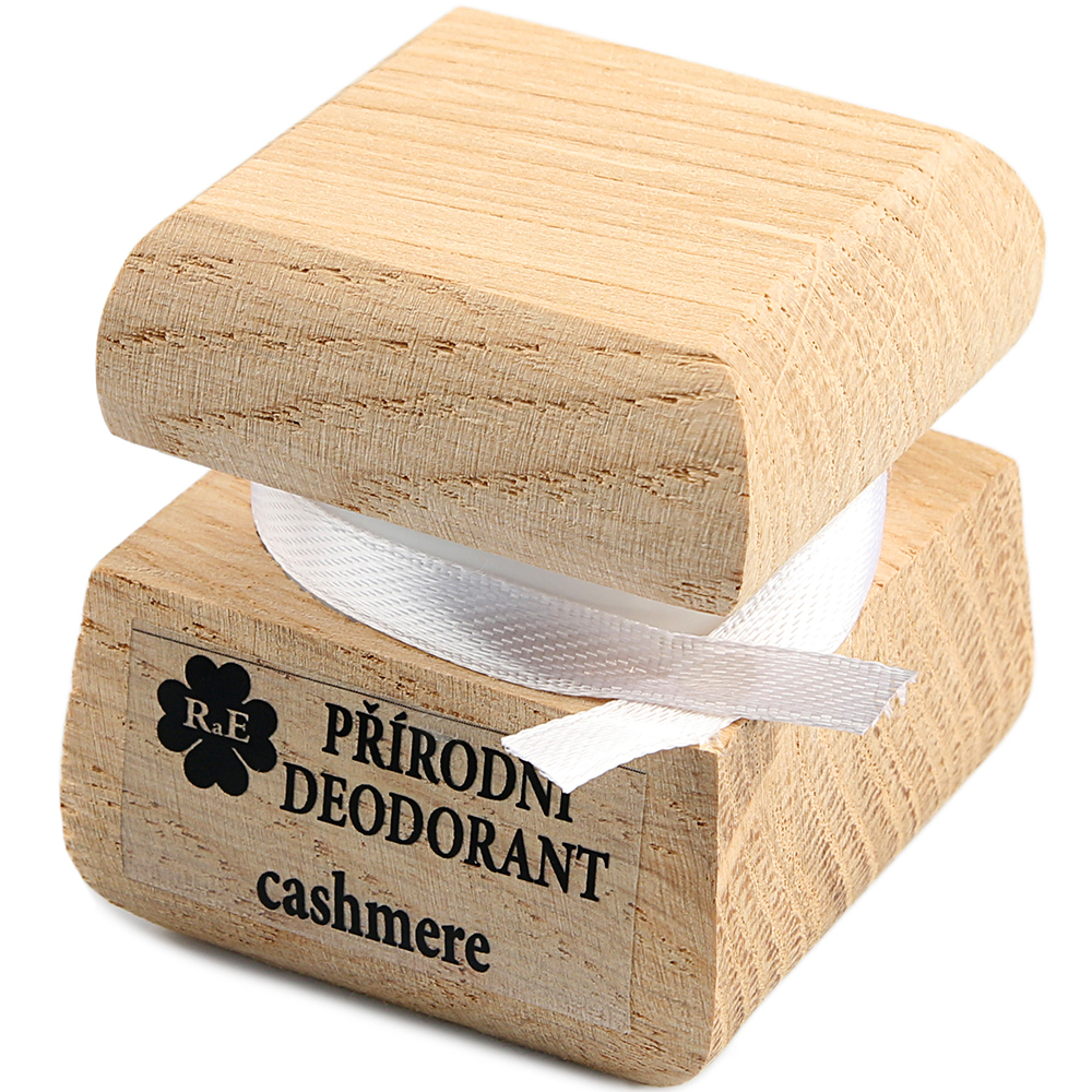 RAE Prírodný krémový dezodorant cashmere čisto drevená krabička 15 ml