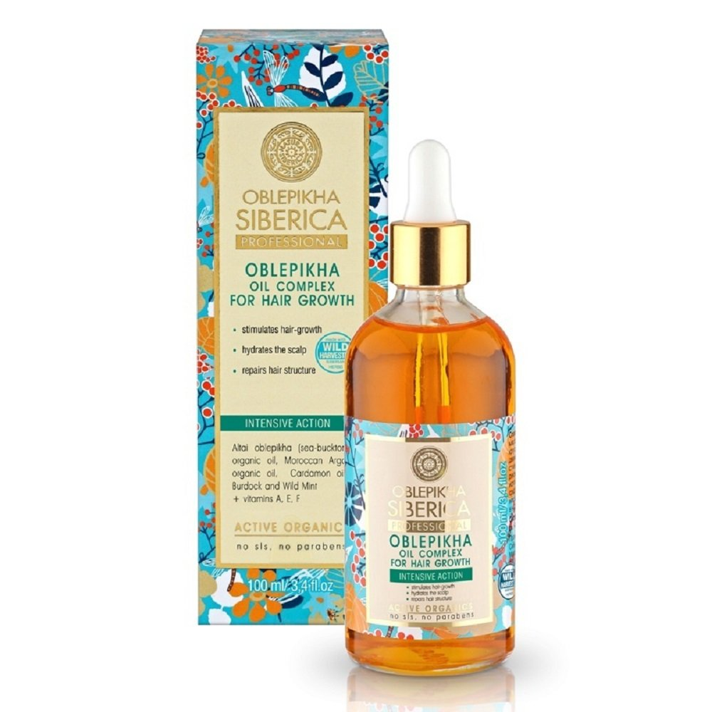 NATURA SIBERICA Rakytníkový olej pre rast vlasov 100 ml 99cadfab8cd