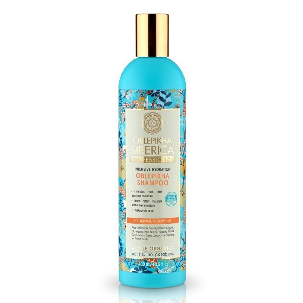 NATURA SIBERICA Rakytníkový šampón pre normálne a suché vlasy 400 ml ... c099fca4b28