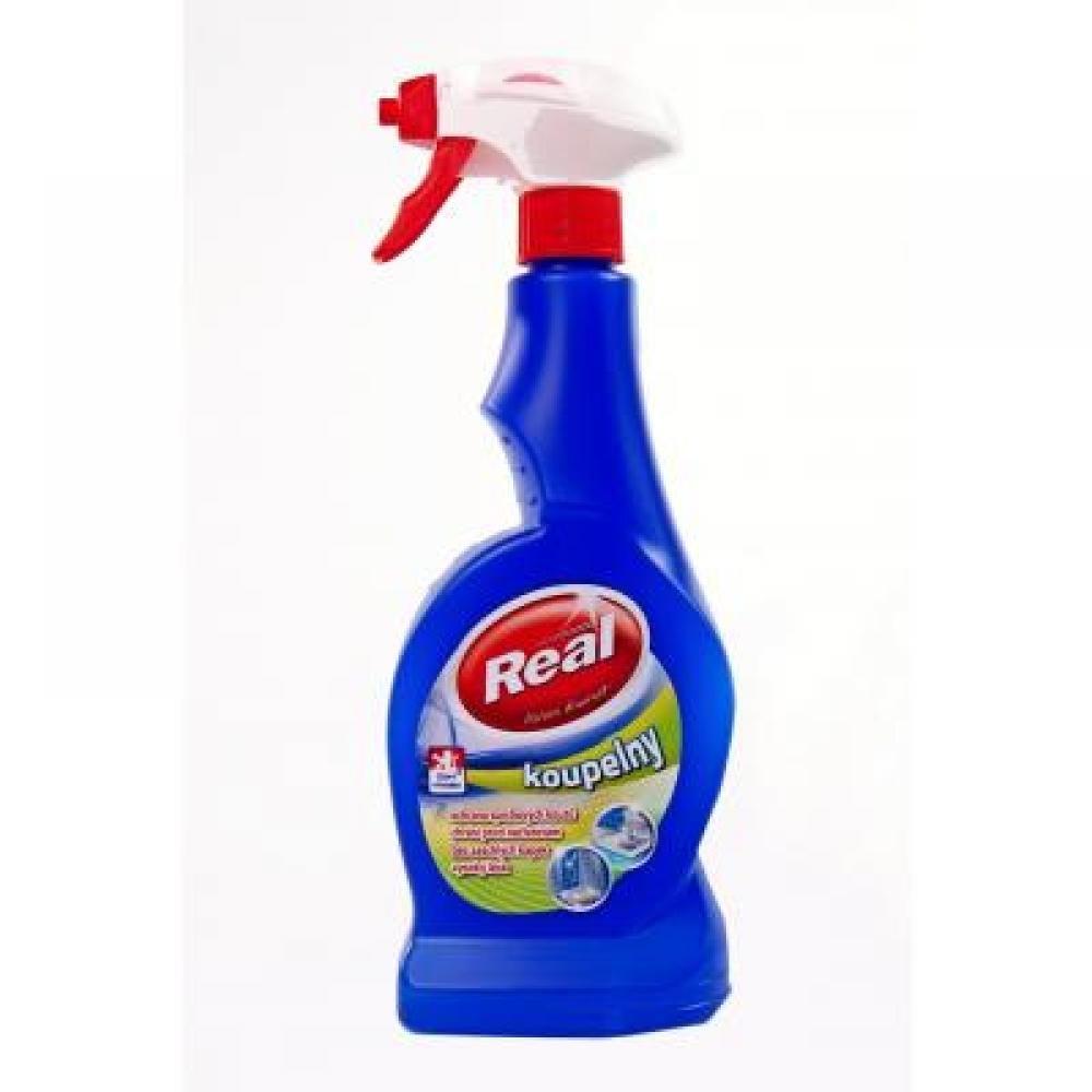 Real čistič kúpeľní spray 550 g