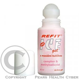 ICE GEL REFIT GAFOR ROLL ON 80ML