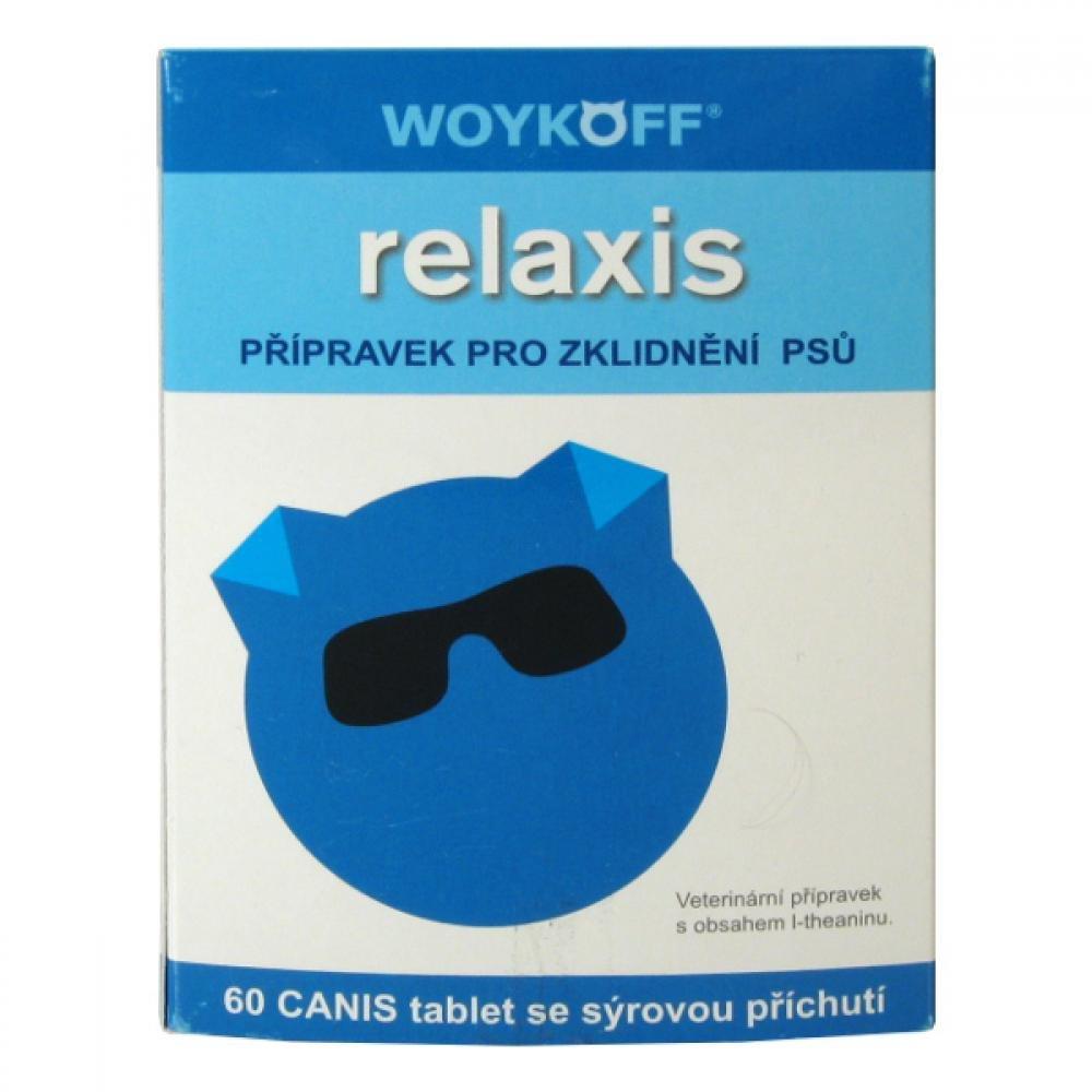 Relaxis CANIS (surová príchuť) tbl.60