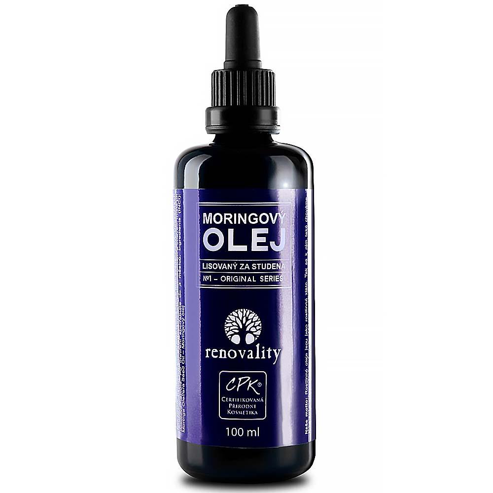 RENOVALITY Moringový olej za studena lisovaný 100 ml