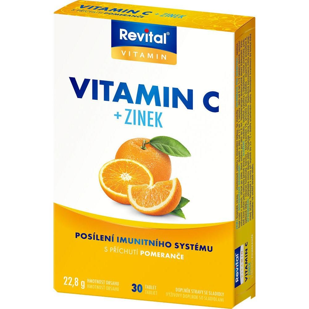 Revital Active vitamin C 500mg tbl.30