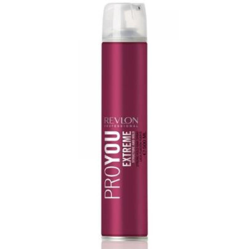 Revlon ProYou Hair Spray Extreme 500ml (Extra silný lak na vlasy)
