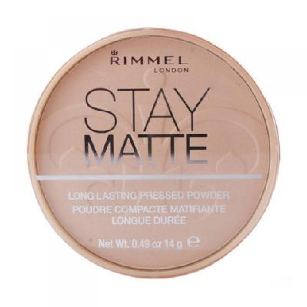 Rimmel London Stay Matte Long Lasting Pressed Powder 14g odtieň 004 Sandstorm