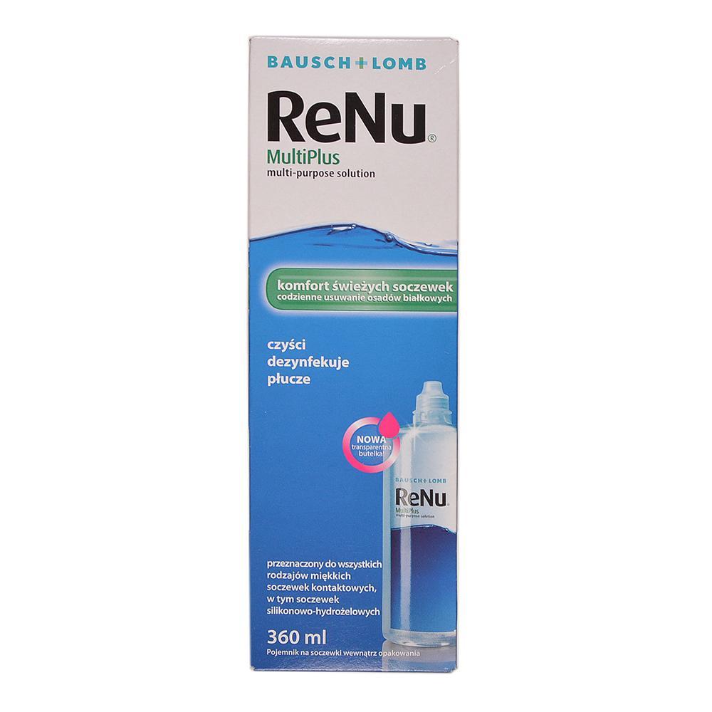 RENU MultiPlus Roztok na kontaktné šošovky 360 ml - MojaLekáreň.sk 433b36c0924