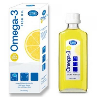 Rybí olej OMEGA-3 LEMON Island 250ml