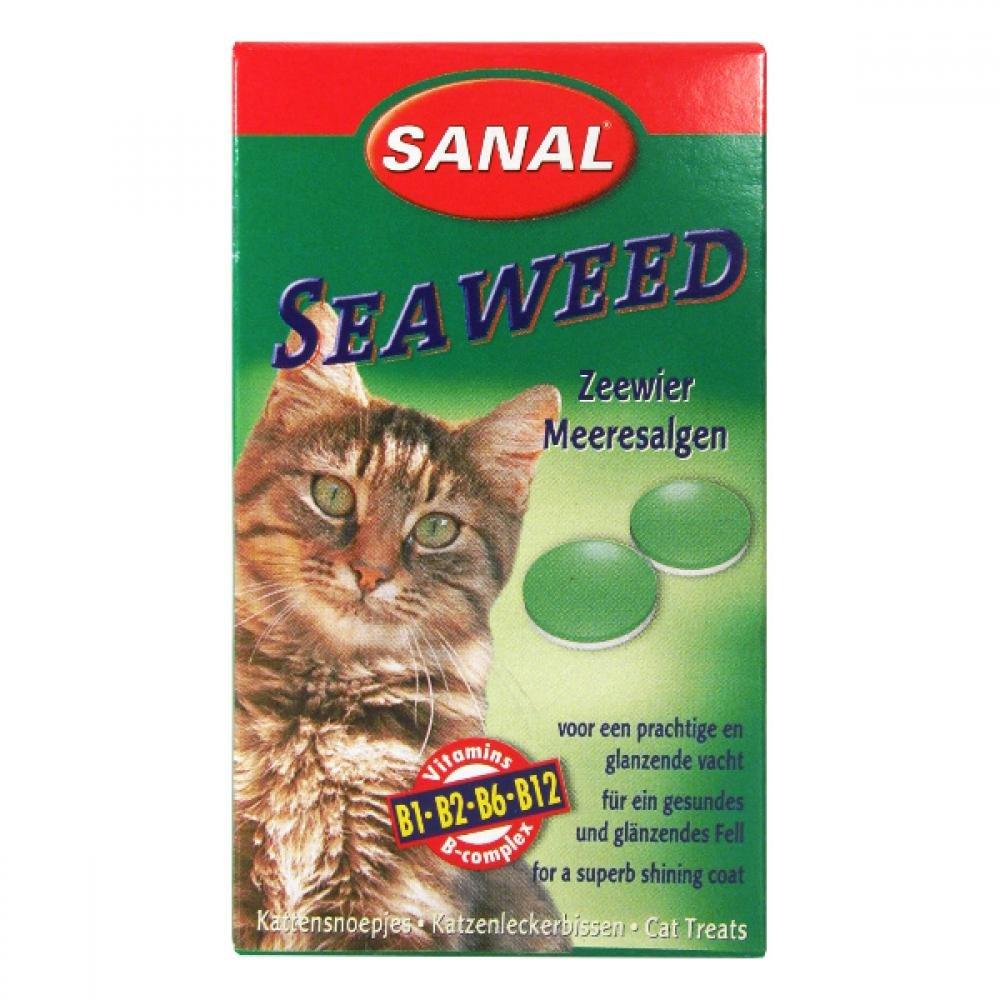 Sanal Seaweed mořská řasa dosp. kočka 100 tbl a.u.v.