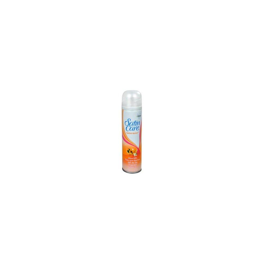 GILLETTE gél na holenie s marhuľovým olejom 200 ml