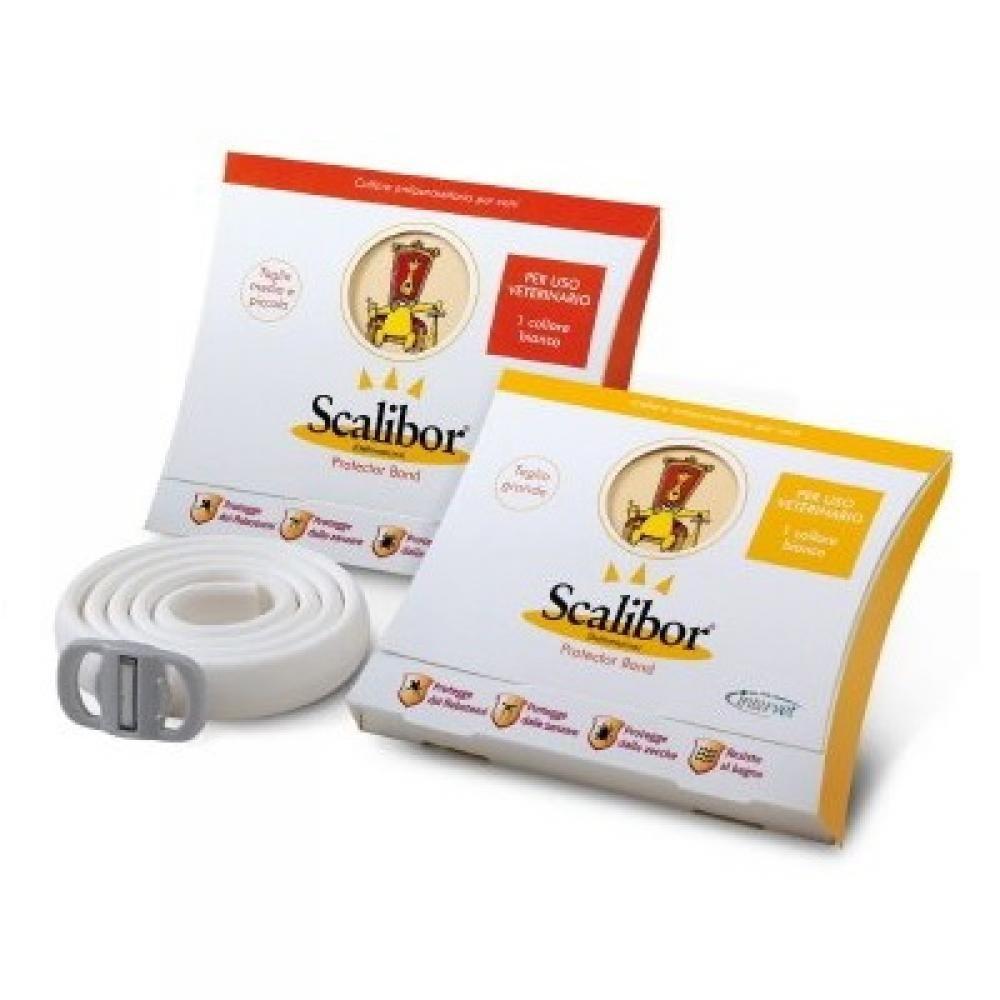 SCALIBOR Antiparazitný obojok pre malé a stredne veľké psy 48 cm