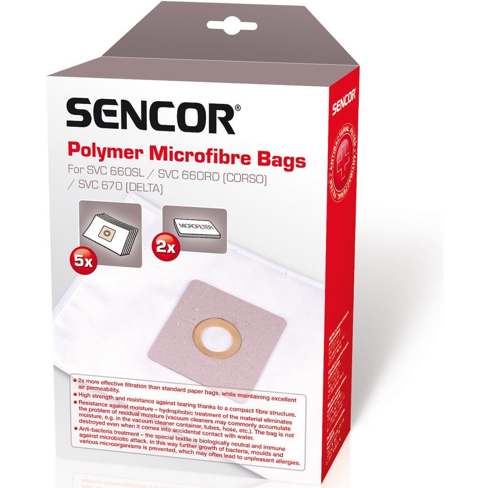 Obrázok Sáčky pre vysávače Sencor SVC 660/670
