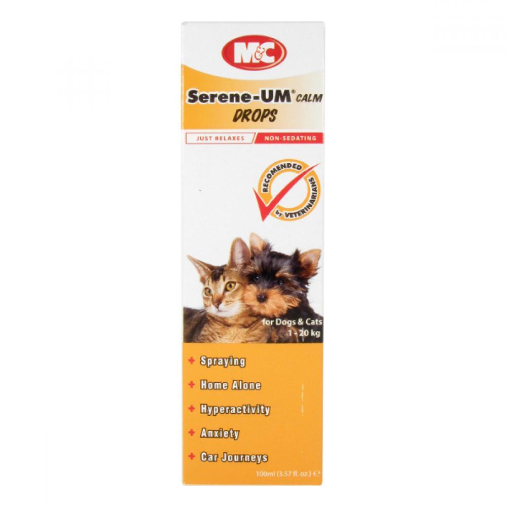 Serene-UM pre psov a mačky Drops 100ml