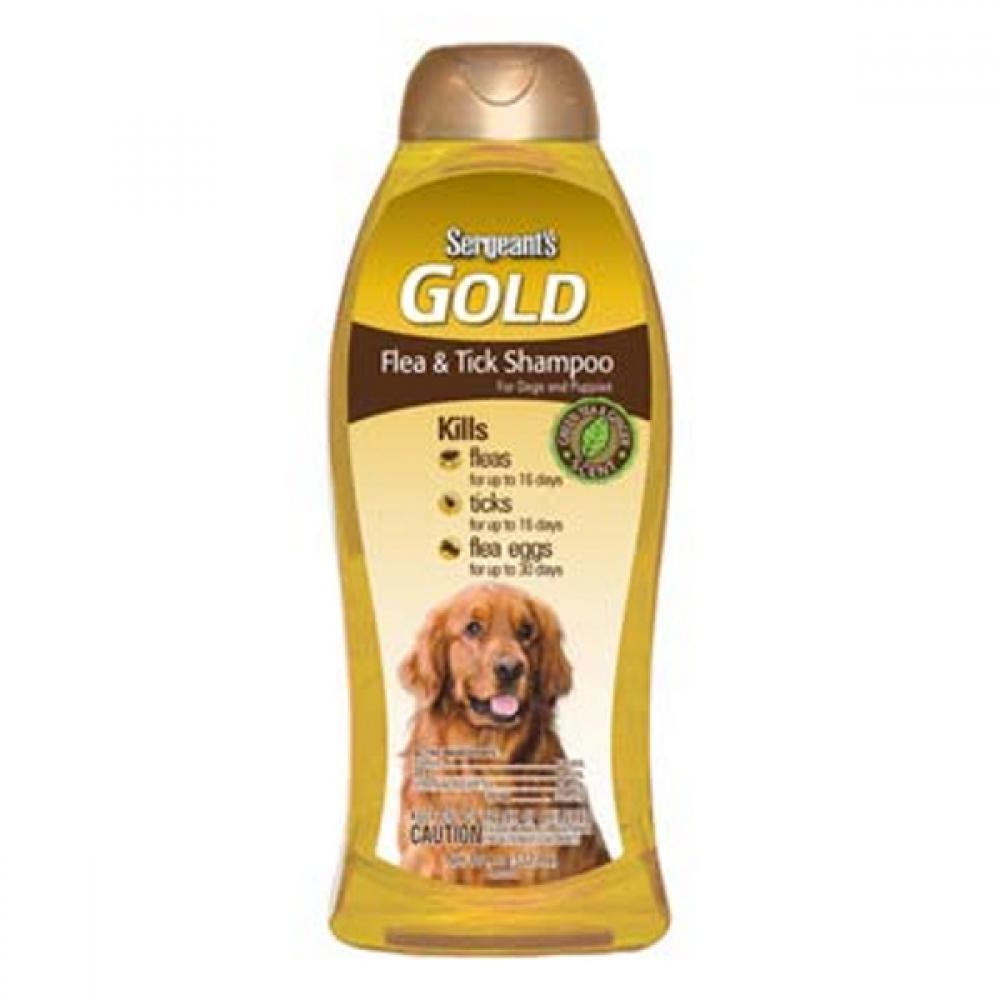 Sergeants šampón Gold antiparazitárny pes 532 ml