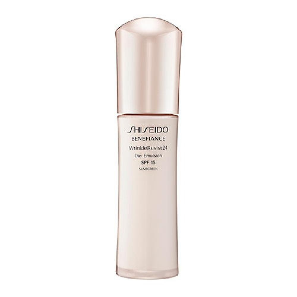 shiseido benefiance wrinkle resist 24 day emulsion 75ml. Black Bedroom Furniture Sets. Home Design Ideas