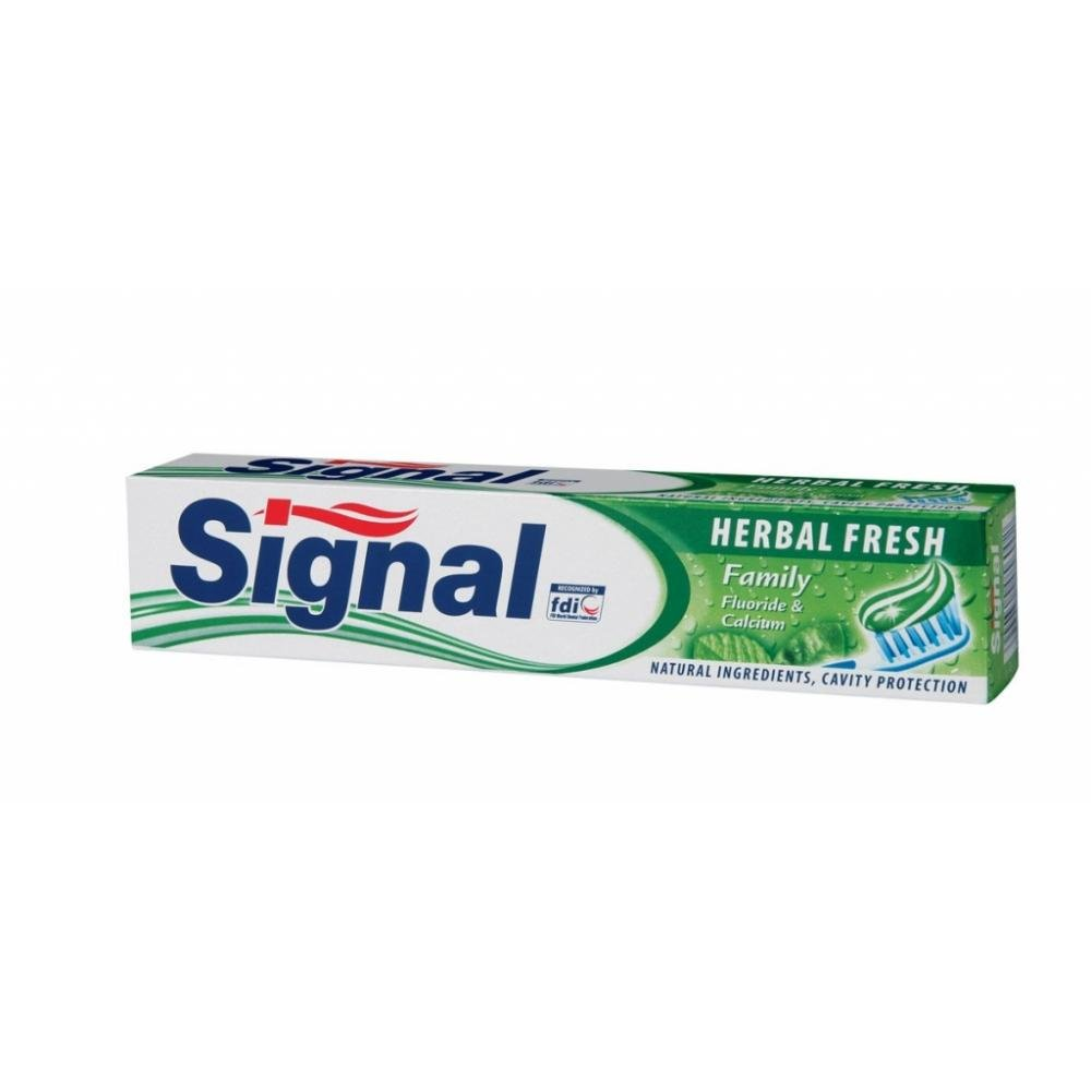 SIGNAL Zubná pasta 75 ml Family Herbal Fresh