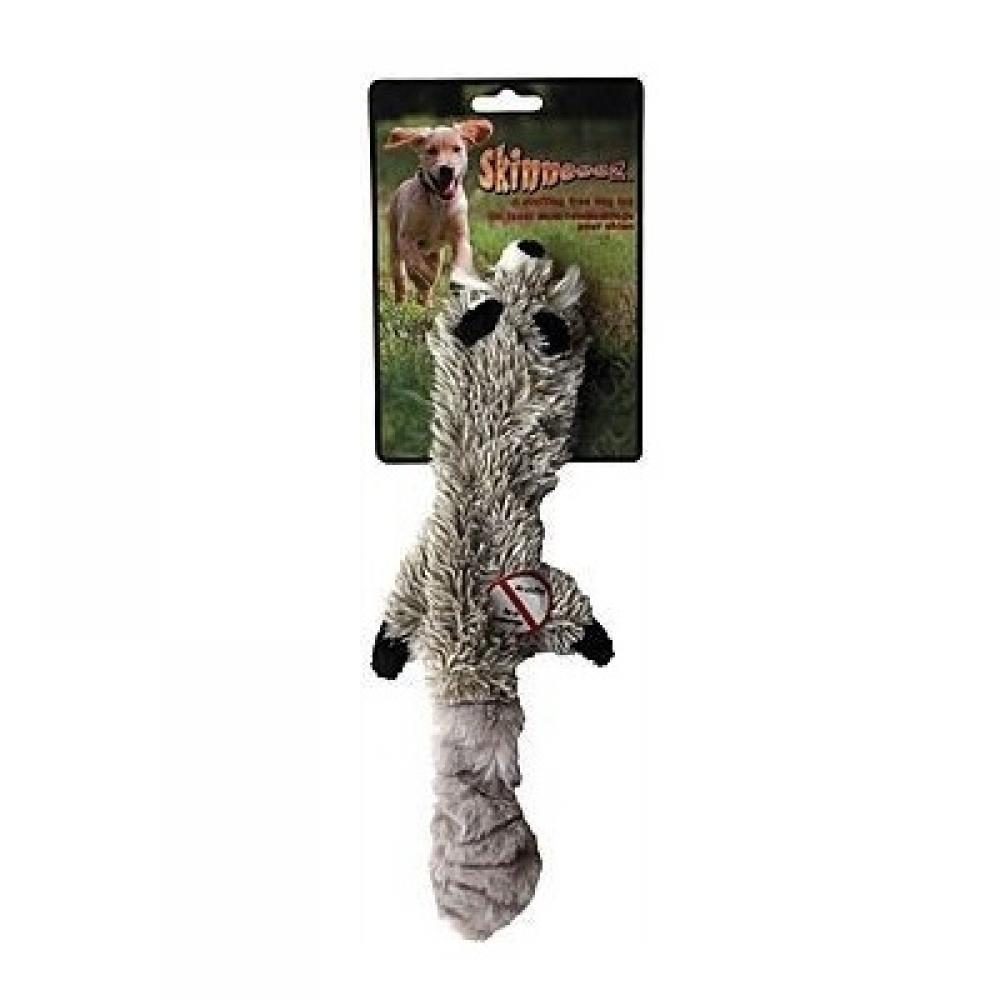 SKINNEEEZ Pískajúca hračka pre psa Mýval 38 cm