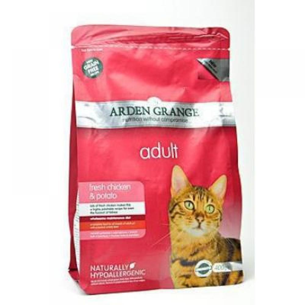 STAZ Arden Grange Cat Adult Kurča a zemiaky 400 g