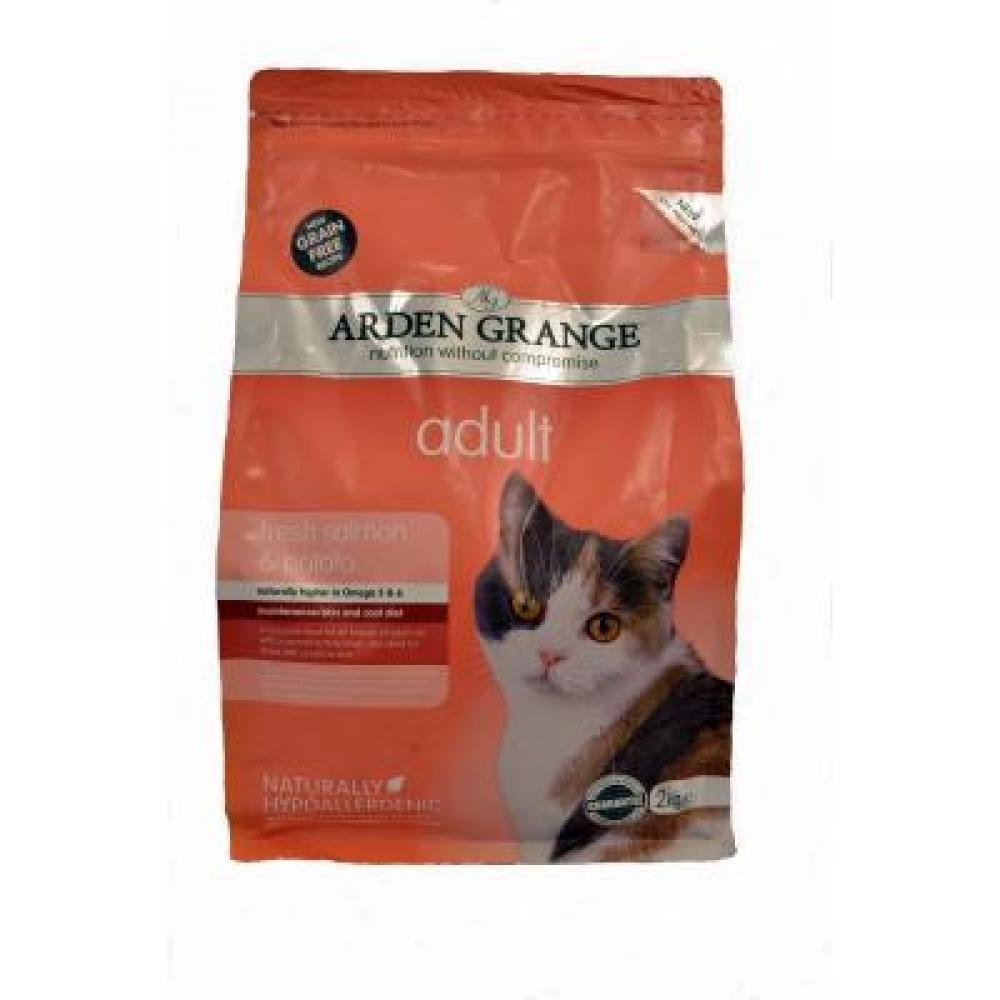 STAZ Arden Grange Cat Adult Salmon & Potato 2 kg