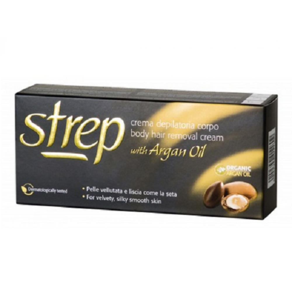 STREP Depilačný krém s arganovým olejom 100 ml