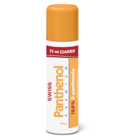 Swiss Panthenol 10 % premium pena 125 + 25 ml zdarma