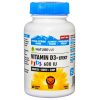 SWISS NATUREVIA Vitamín D3-Efekt Kids 60 tabliet