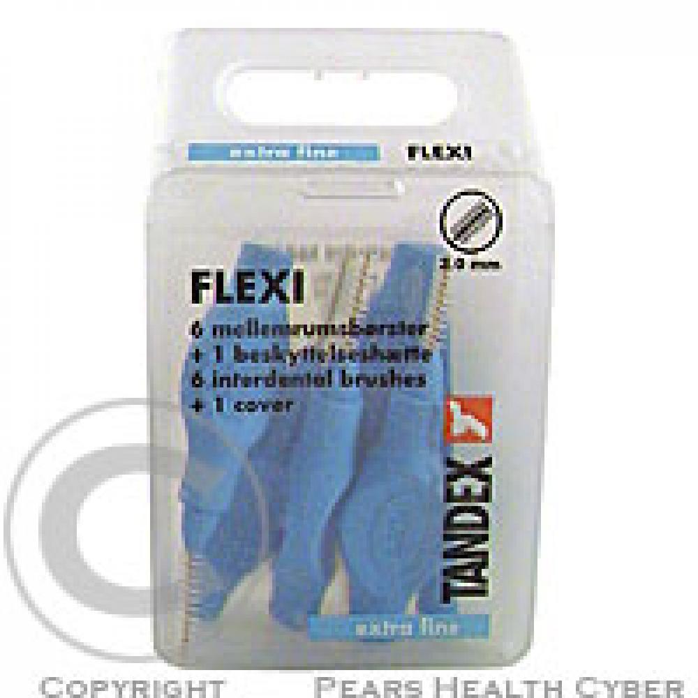 Tandex Flexi mezizub.kart.0.6 modré TA819074 6ks