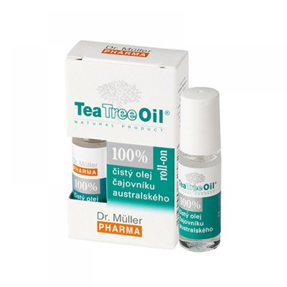 DR. MÜLLER Tea Tree Oil 100% čistý olej roll-on 4 ml